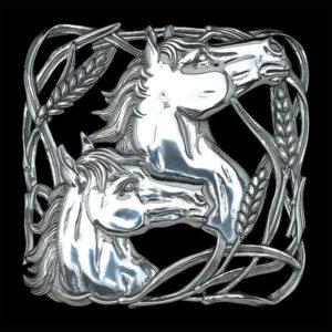Horse Wheat Trivet