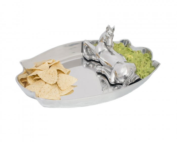 Horse Figural Chip and Dip