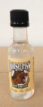 Clear Horse Piss Pepper Sauce