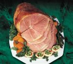 Whole sliced country ham