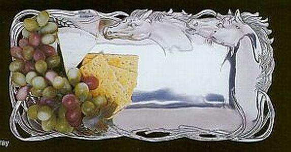 Horse Bread Tray