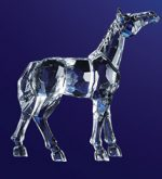 Acrylic Horse Statue