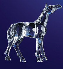 320901 Acrylic Horse 5 90033