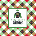 Kentucky Derby Luncheon Napkins