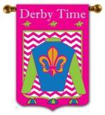Derby Time Flag