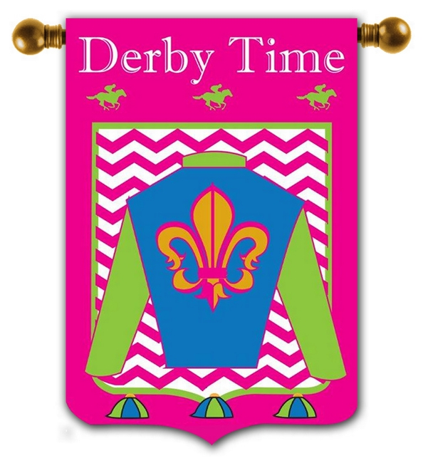 Derby Time Flag