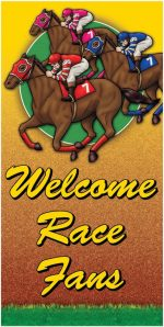 Day at the races Poster