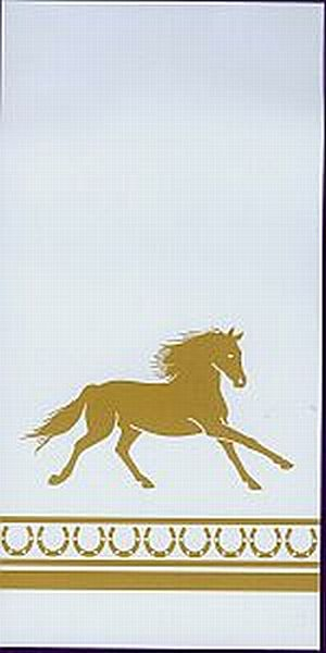 Gold Horse Guest Towels