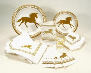 Regal Horse Beverage Napkins