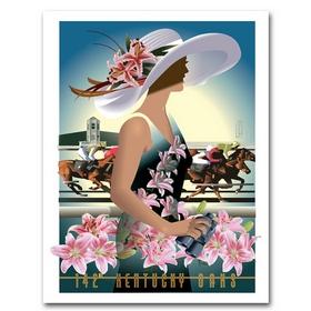 Ky Oaks Poster