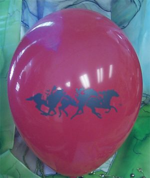 Racing Horse Balloon