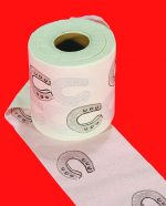 Horseshoe Toilet Paper
