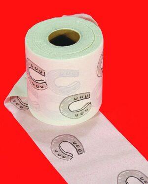 Horseshoe Toilet Paper