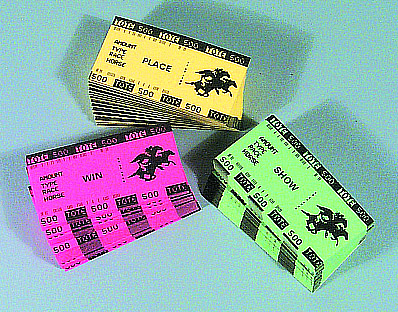 Assorted Betting Tickets