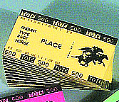 Place Betting Tickets