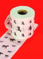 Horse Themed Powder Room Tissue