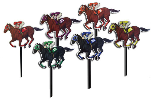 Horse & Jockey yard signs