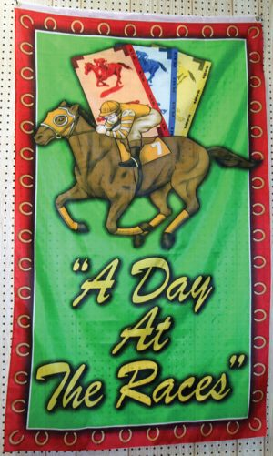 A day at the races flag