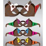 Wearable Horse Race Glasses
