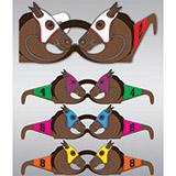 Wearable Horse Race Glasses