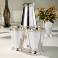 Silver julep cups