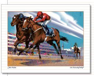 Derby Art 142 Note Cards