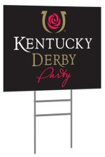 Derby Party Sign