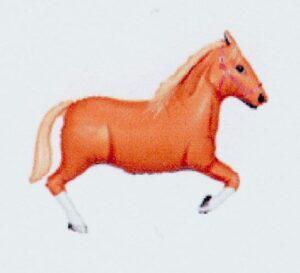 palamino horse balloon