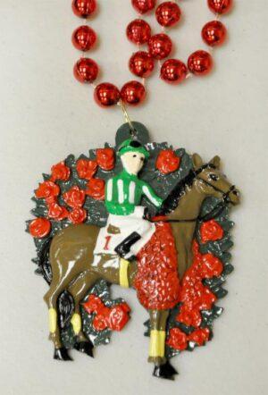 Derby Celebration Beads Necklace