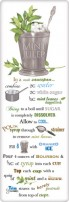 Mint julep recipe towel