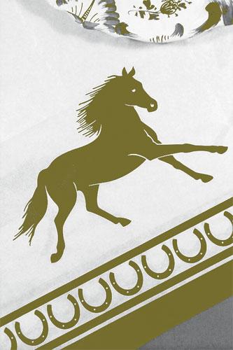 Regal Horse Tablecloth