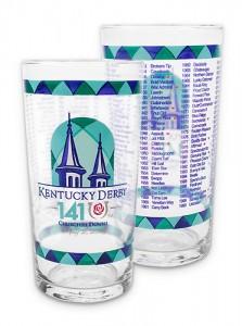 Kentucky Derby 2014 Glass