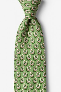 If the shoe fits green tie