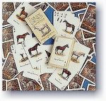 Horses of world Playing cards