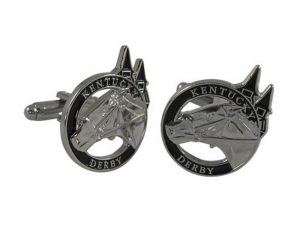 Kentucky Derby cuff links