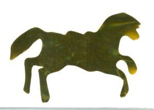 mylar horse confetti