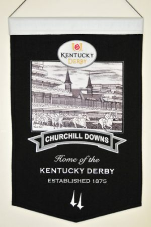 Home of the Kentucky Derby Banner