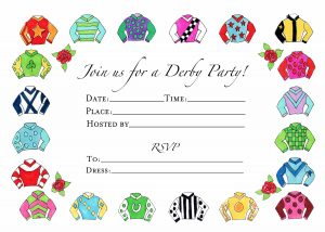 Racing Silks Invitations