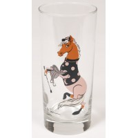 Saddle Up Tall High Ball Glasses