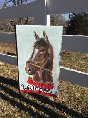 Horse head Garden Flag