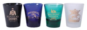 Triple Crown Shot Glass Set