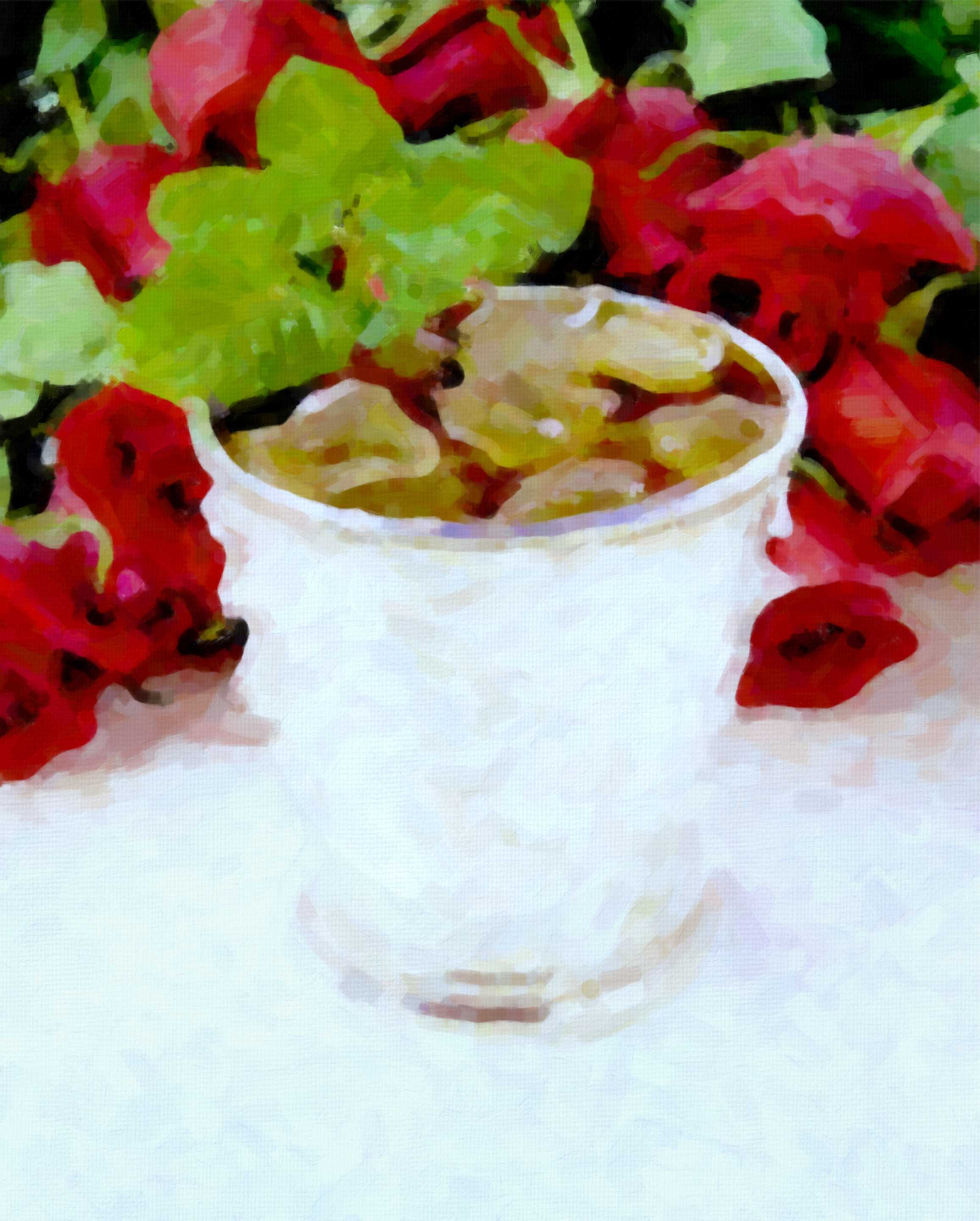 Silver Mint Julep Cup Coaster