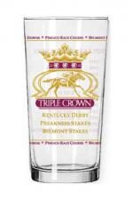 American Pharoah Triple Crown Glass