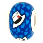 Derby Hat with Ticket Pandora Bead