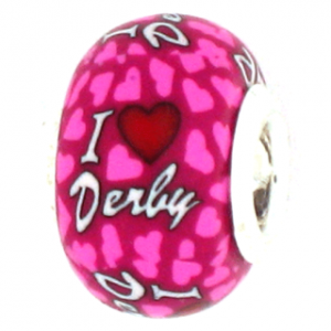 I Love Derby Pandora Bead