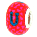 Derby Horseshoe Pandora Bead