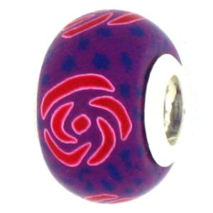 Derby Rose Pandora Bead