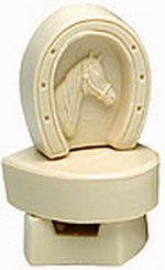 Horseshoe soap