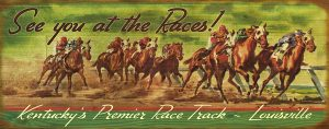 Kentucky's Premier Race Track Sign