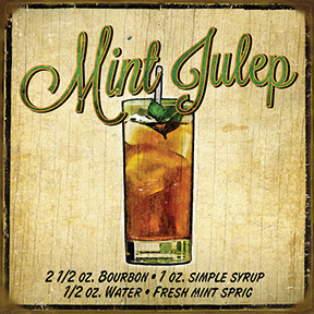 Mint Julep Sign
